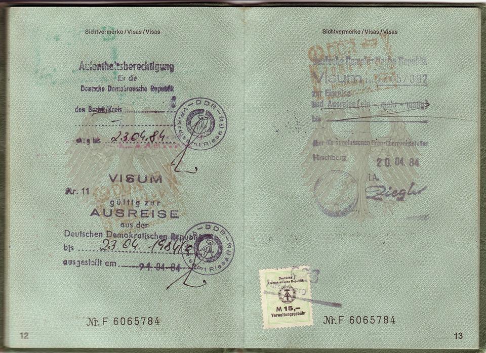 cestovní vízum