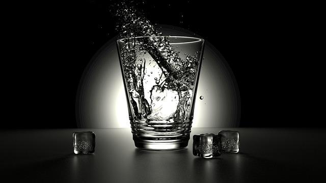 led u sklenice