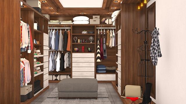 Vestavěná skříň pro každý domov
