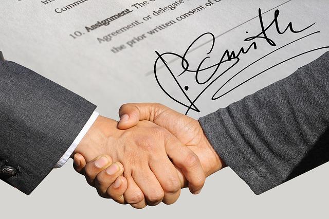 uzavření smlouvy